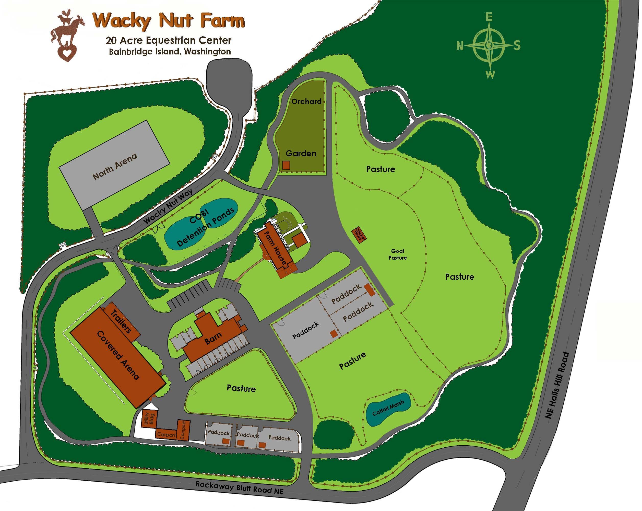 20 acre farm layout quarterly newsletter for Hobby farm plans