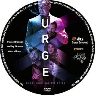 Grátis Gtba: Urge (2016) R1 - Cover & Label DVD Movie