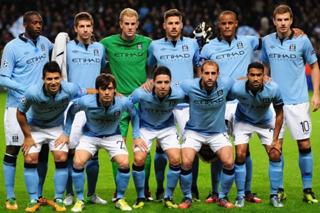 Manchester City Is Highest Paid Sports Team In The World Manchester City Champions League Manchester