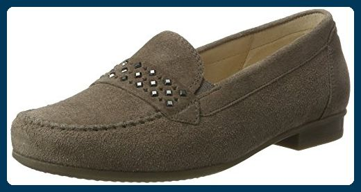 Gabor Shoes Damen Comfort Mokassin, Braun (Wallaby 32), 38