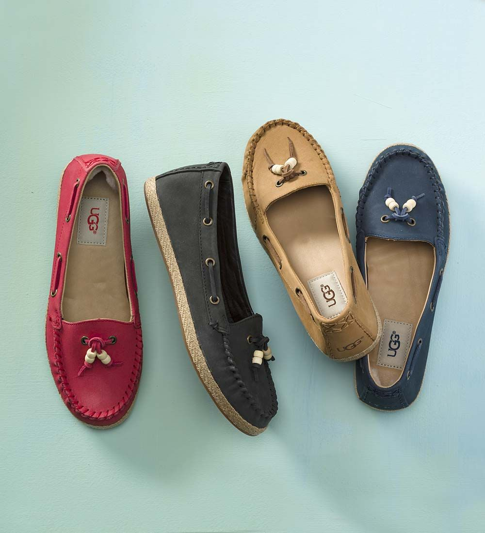 9c6e409599a UGG Suzette Moccasin with Beads | Shoes | UGG shoes, UGG mocs ...