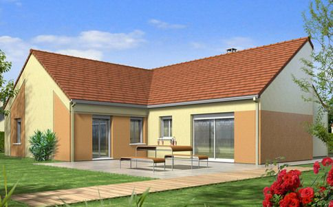 Plan maison gratuit Cassiopée maiso albert Pinterest - modele plan maison plain pied gratuit