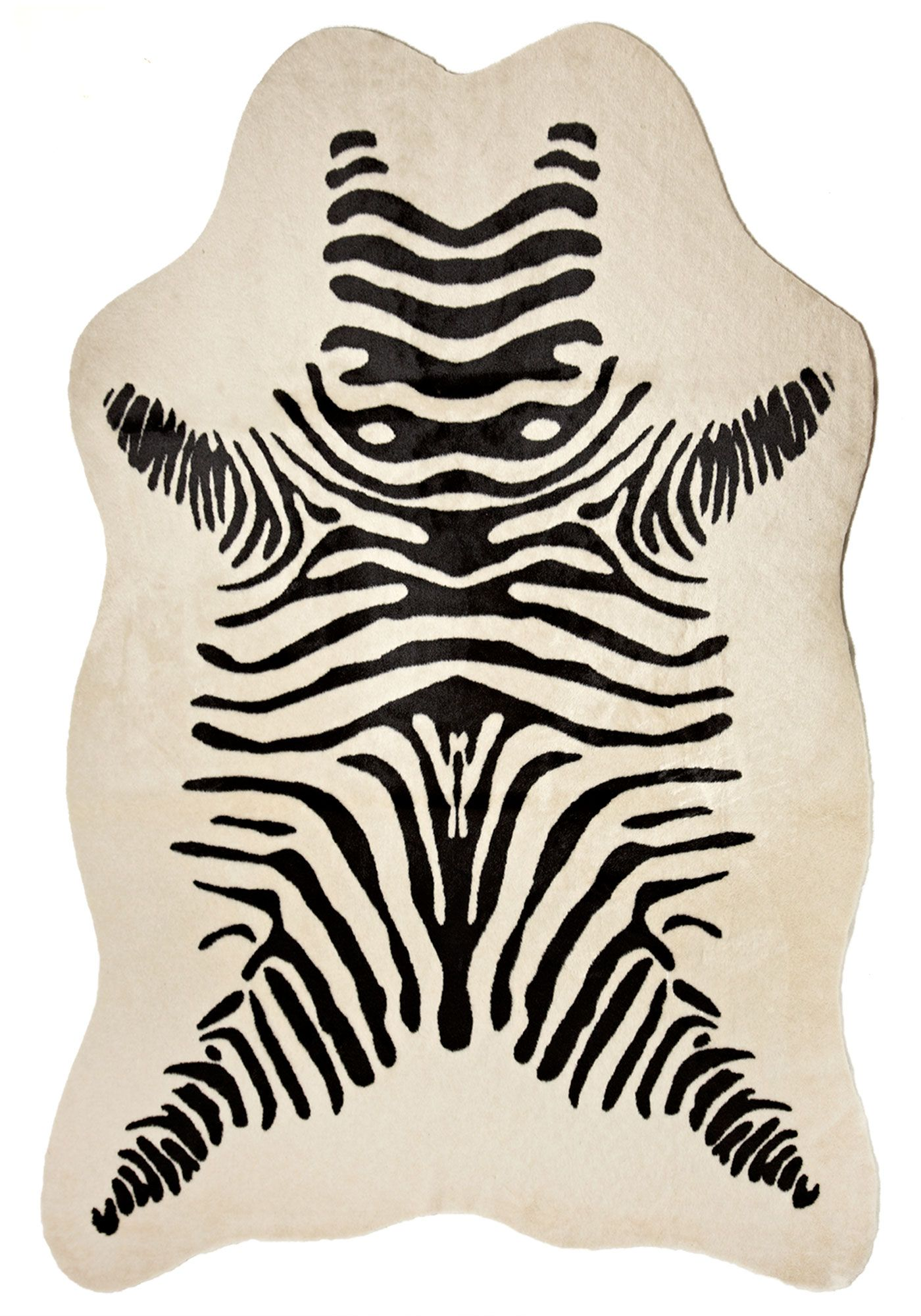 Define Space And Add Drama With Authentically Shaped Colored And Textured Hide Rugs Fabulously Human Zebra Print Cowhide Rug Zebra Hide Rug Zebra Cowhide Rug