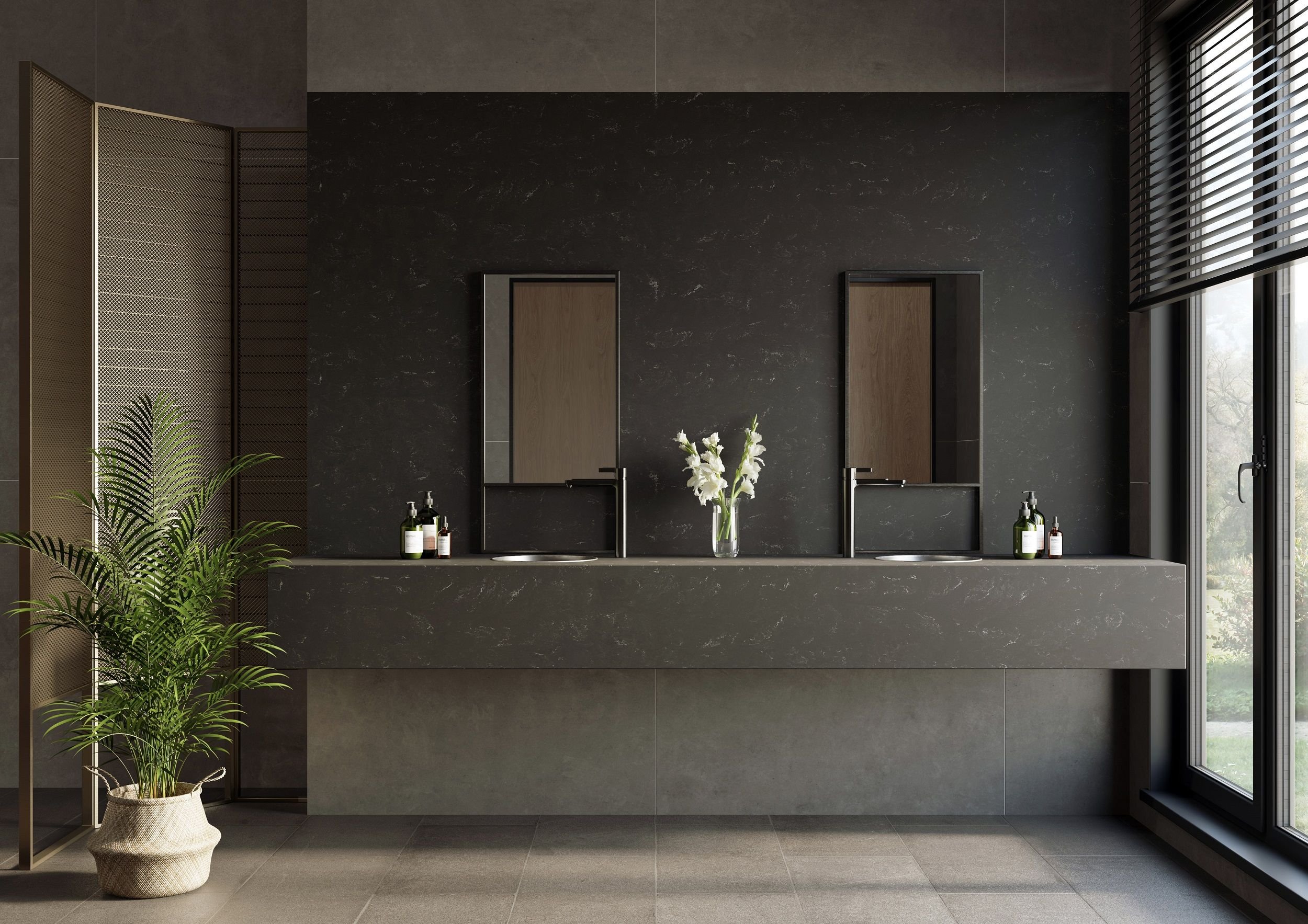 Four new Marmo and two new Concrete colours have been