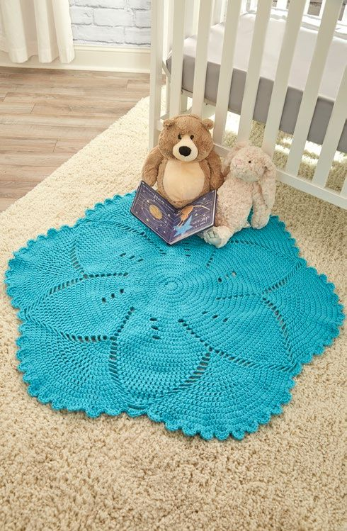 Free Scalloped Baby Blanket Free Crochet Pattern From Redheart