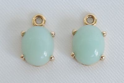 Authentic Pandora 14K Gold Compose Earring Charms Amazonite ALE 585 250426AZ https://t.co/A0vrsy4swz https://t.co/vdSbUOe8IG
