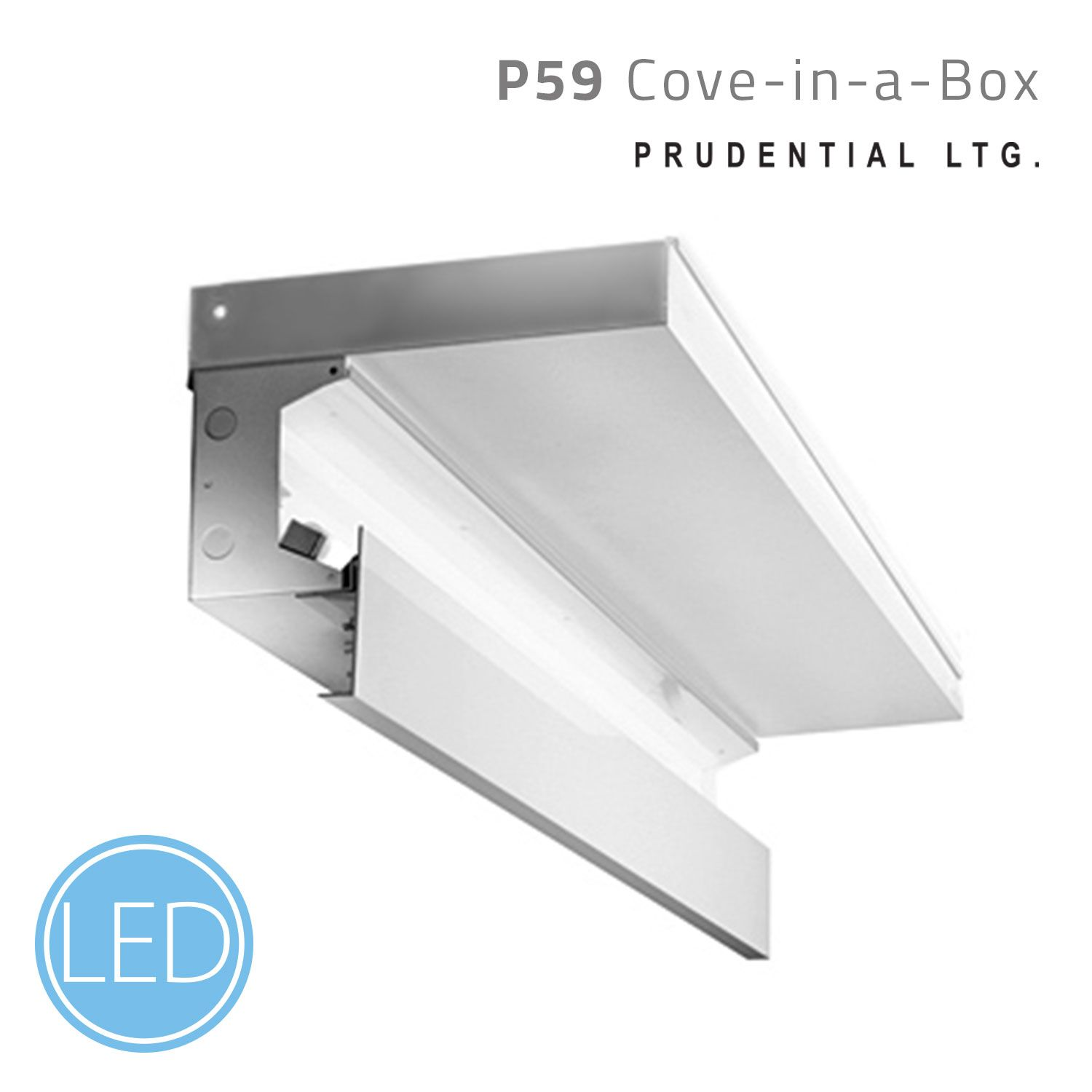 P59 Cove In A Box A Prefabricated Perimeter Cove System Offering An Indirect Wall Wash Effect The Fixture Perimeter Lighting Linear Lighting Cove Lighting