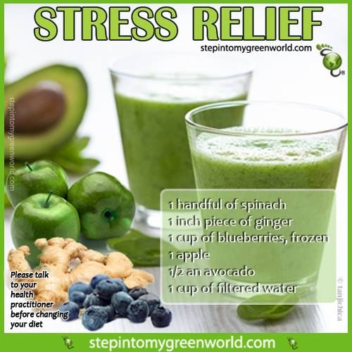 ☛ Do YOU know how dangerous #stress is for you? It can lead to many illnesses and even heart attacks. Take control of your health! This smoothie is packed with stress fighting ingredients. FOR ALL THE DETAILS: http://bit.ly/OK7CFk ✒ Share   Like   Re-pin   Comment #StepIntoMyGreenWorld #STEPin2 #Health