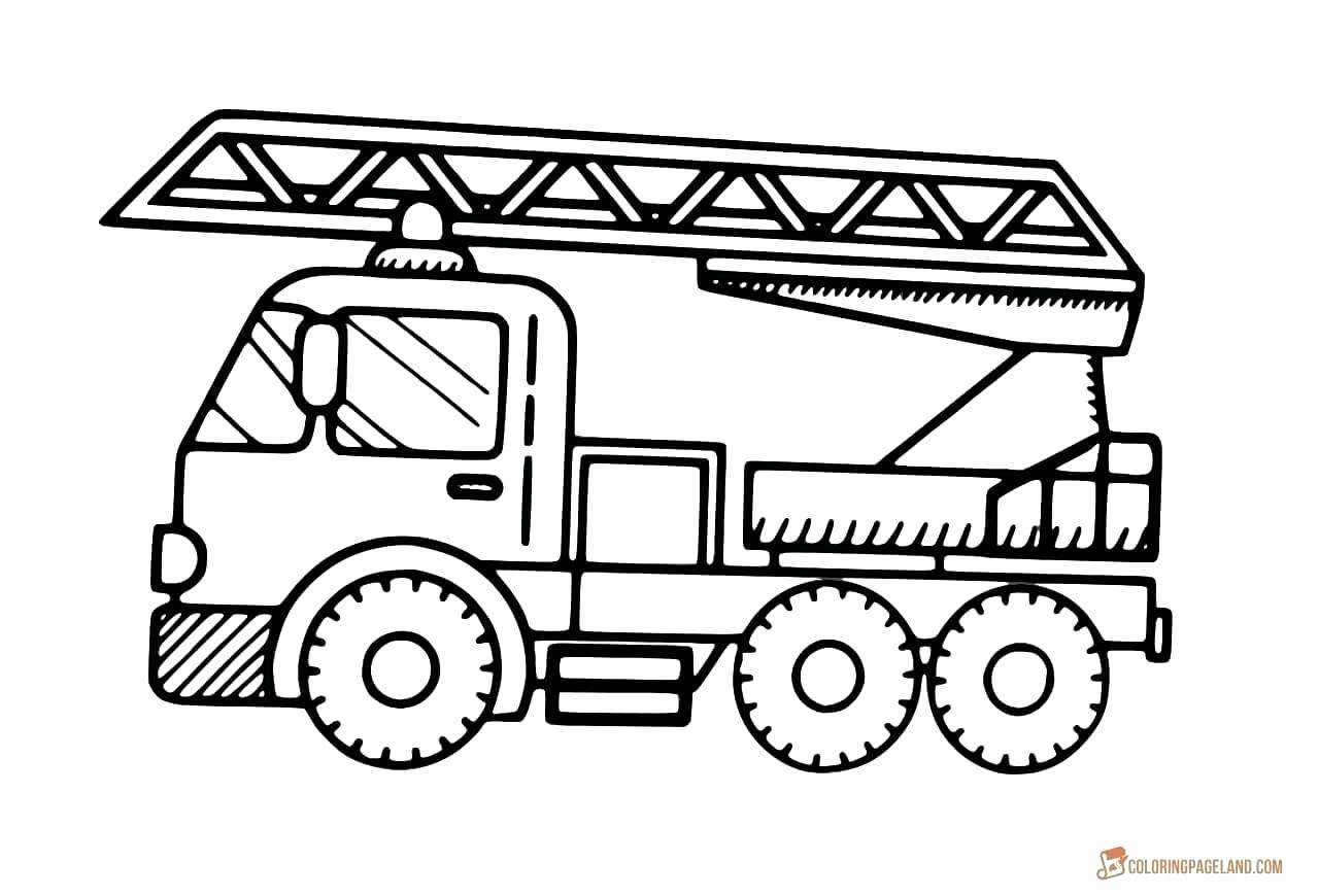 Fire Truck Coloring Book Lovely Fire Truck Coloring Page ...