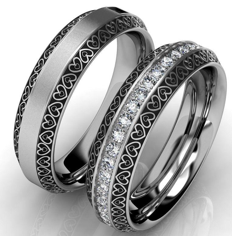 Snubni Prsteny Z Chirurgicke Oceli Oc1084 Svatba Pinterest