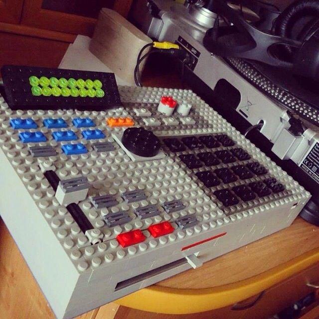 Lego Akai Mpc 2000xl Music Production Equipment Music Machine Music Creation