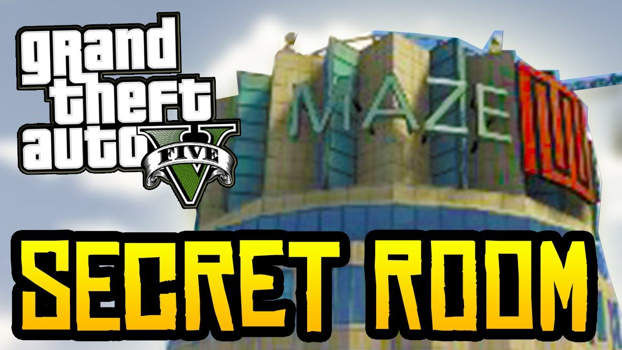 Gta 5 Secret Room In Maze Bank Gta 5 Secrets Secret Rooms Gta Gta 5