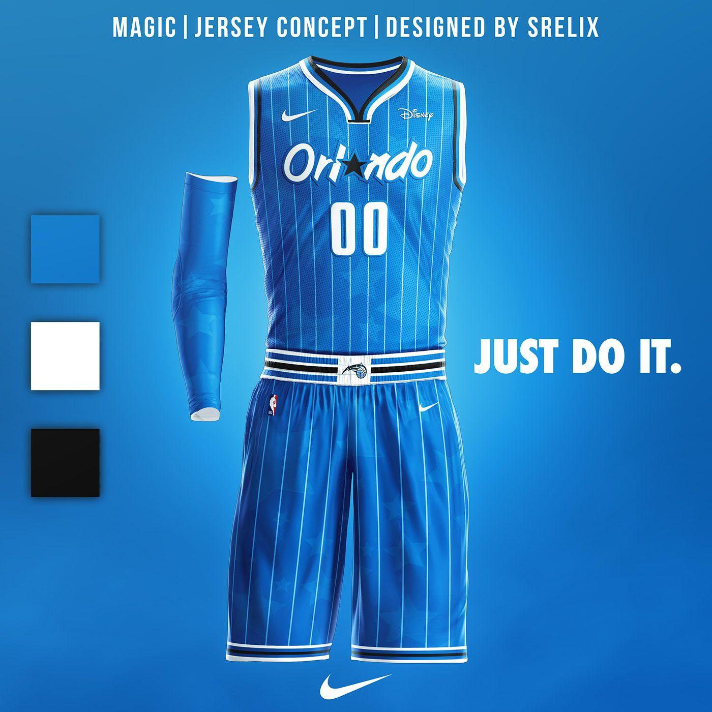 Orlando Magic rebranding kit Uniform design, Orlando