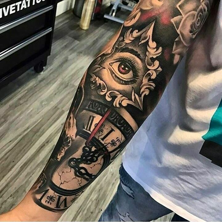 Männer unterarm motive tattoo 21+ Listen