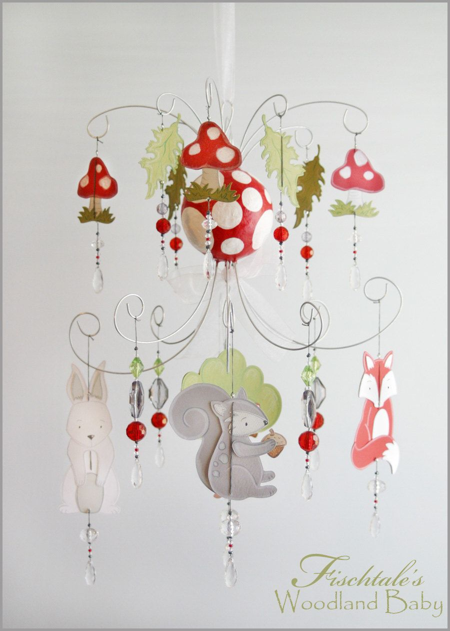 Woodland baby chandelier mobile baby mobile nursery mobile nursery woodland baby chandelier mobile baby by fischtaledesigns on etsy 15500 arubaitofo Gallery