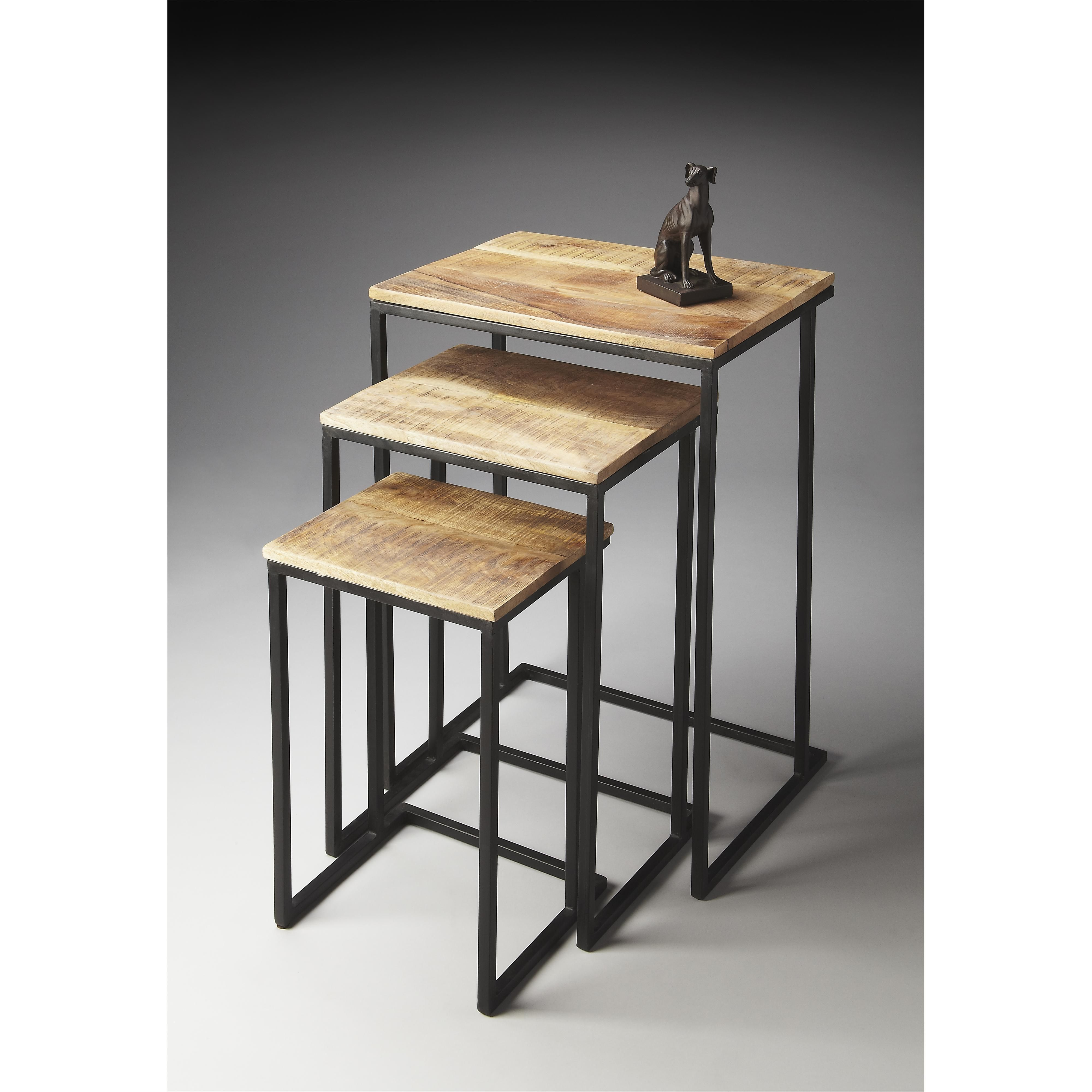 Metalworks Nest of Tables by Butler Specialty Company