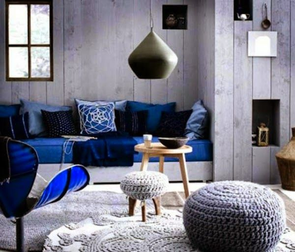 gray living room color schemes with dark blue furniture