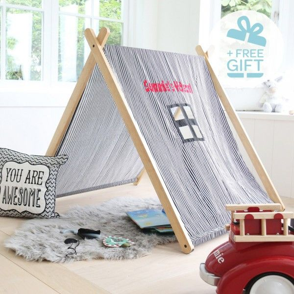Black and White Striped Play Tent & Black and White Striped Play Tent | Childrenu0027s Toys | Pinterest ...