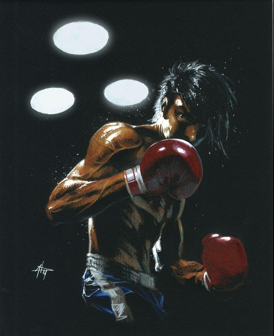 Rocky Joe #fitness inspiration desenho Gabriele Dell'otto