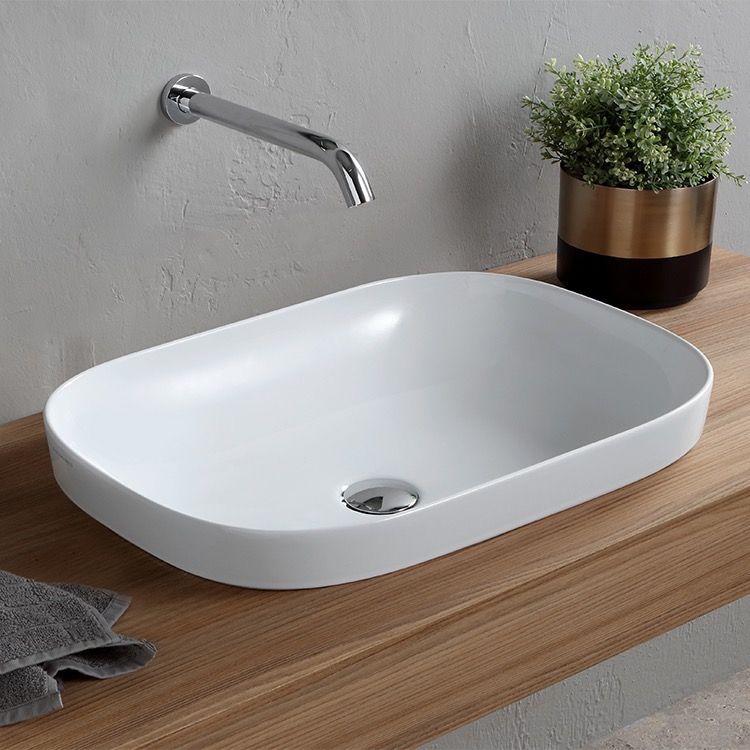 Oval White Ceramic Drop In Sink Bathroom Sinks Small Nameeks