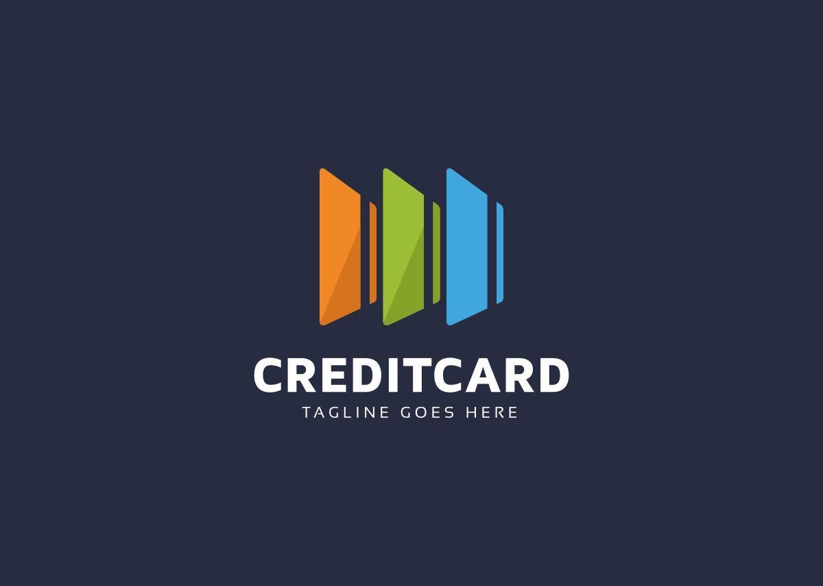 Credit card logo template 69053 templatemonster logo
