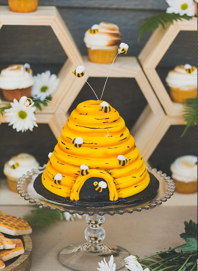 Honey Bee First Birthday Party Bumble Bee Birthday