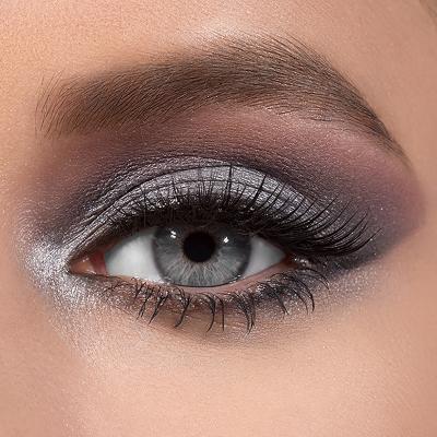 Grey Eyed Glamazon Eyeshadow Palette Buxom Cosmetics Grey Eye Makeup Grey Eyeshadow Eye Makeup