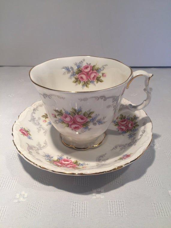 Royal Albert Tranquillity Tea Cup and Saucer #teacups