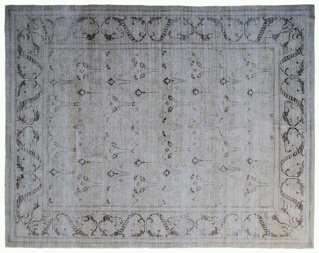 "#11476 Origin:Afghanistan Design:Floral Size:9' 3"" x 12' 9"" Sqft:117.17′ Color:Yellow"