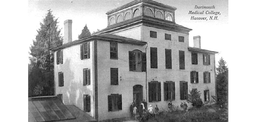 Dartmouth Was The First Medical School Built In The U S In Hanover Nh When One Rented Room Became Inadequate Historical Society School Building Building