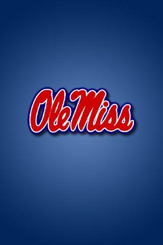 Ole Miss Wallpaper : wallpaper, Rebels, IPhone, Wallpaper, Rebels,, Miss,, Football