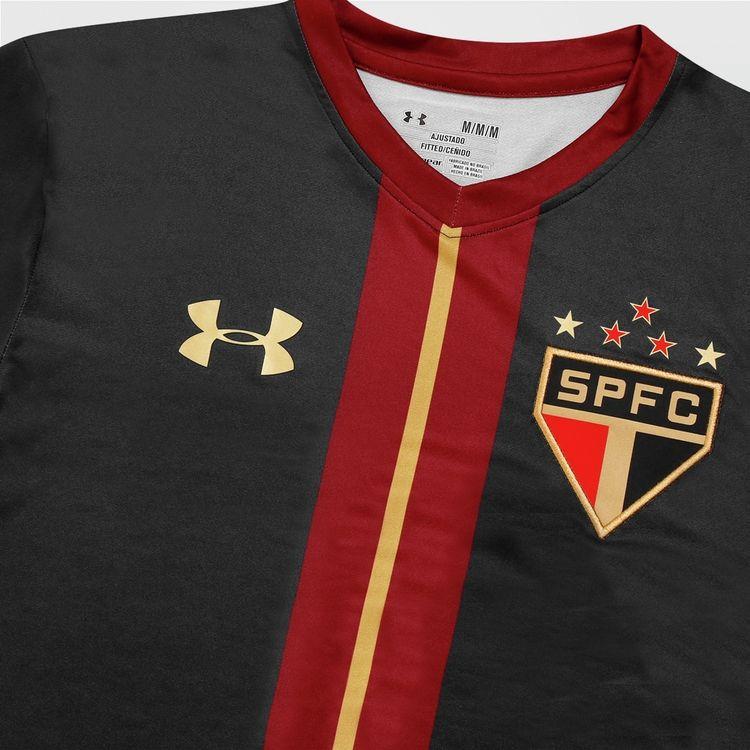 c2d9ad5b53e Camisa Under Armour São Paulo Goleiro III 15 16 s nº - São Paulo Mania