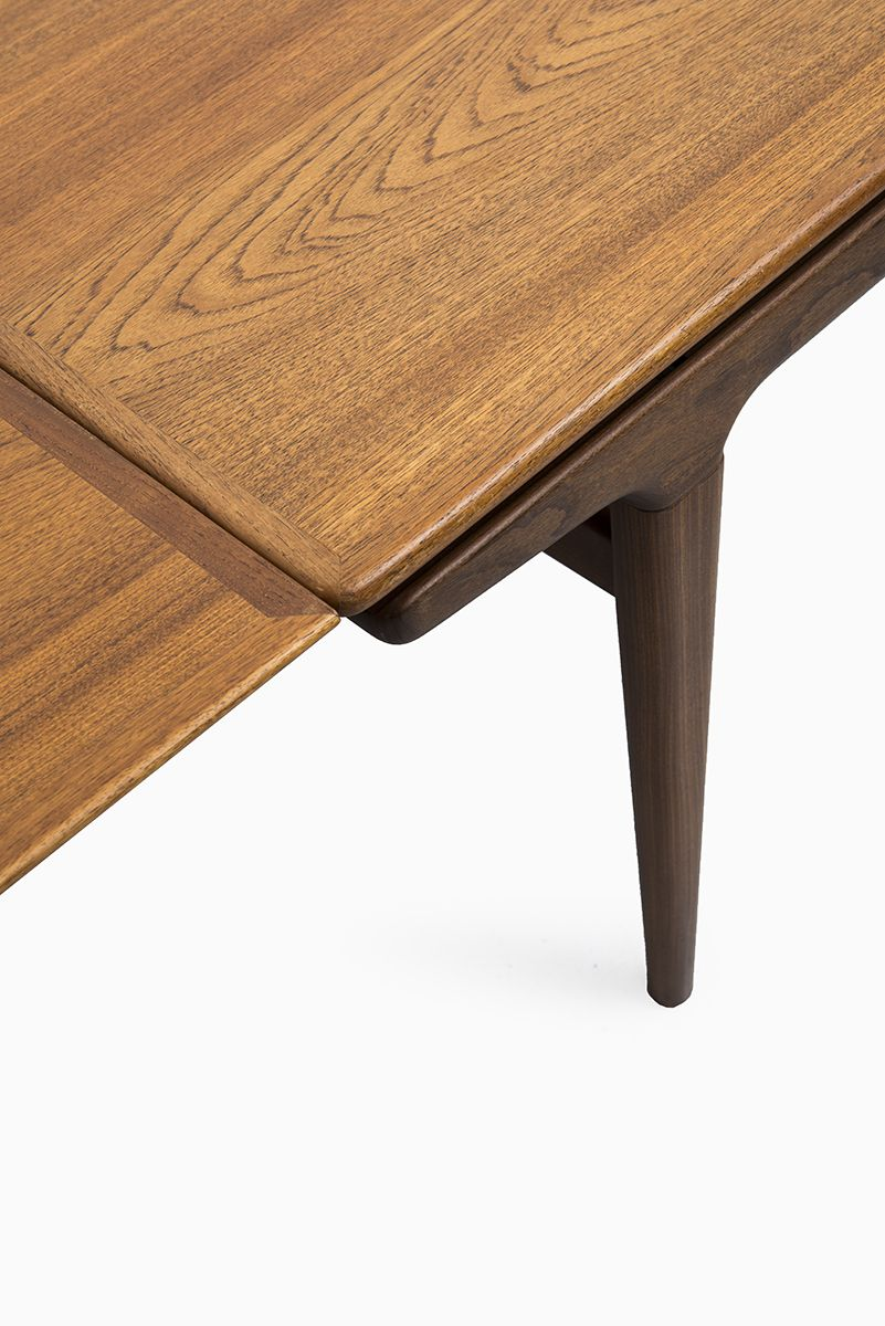 teak retro furniture. Johannes Andersen Dining Table In Teak By Uldum At Studio Schalling #teak # Retro Furniture M