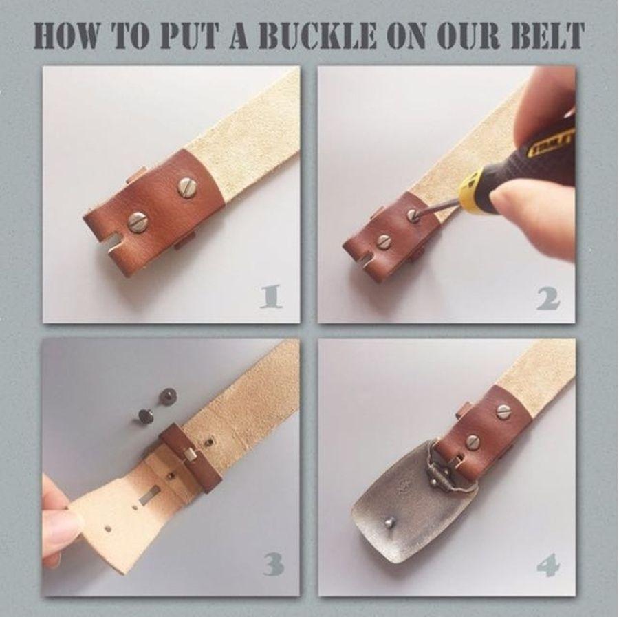 Pin On Belt Buckle