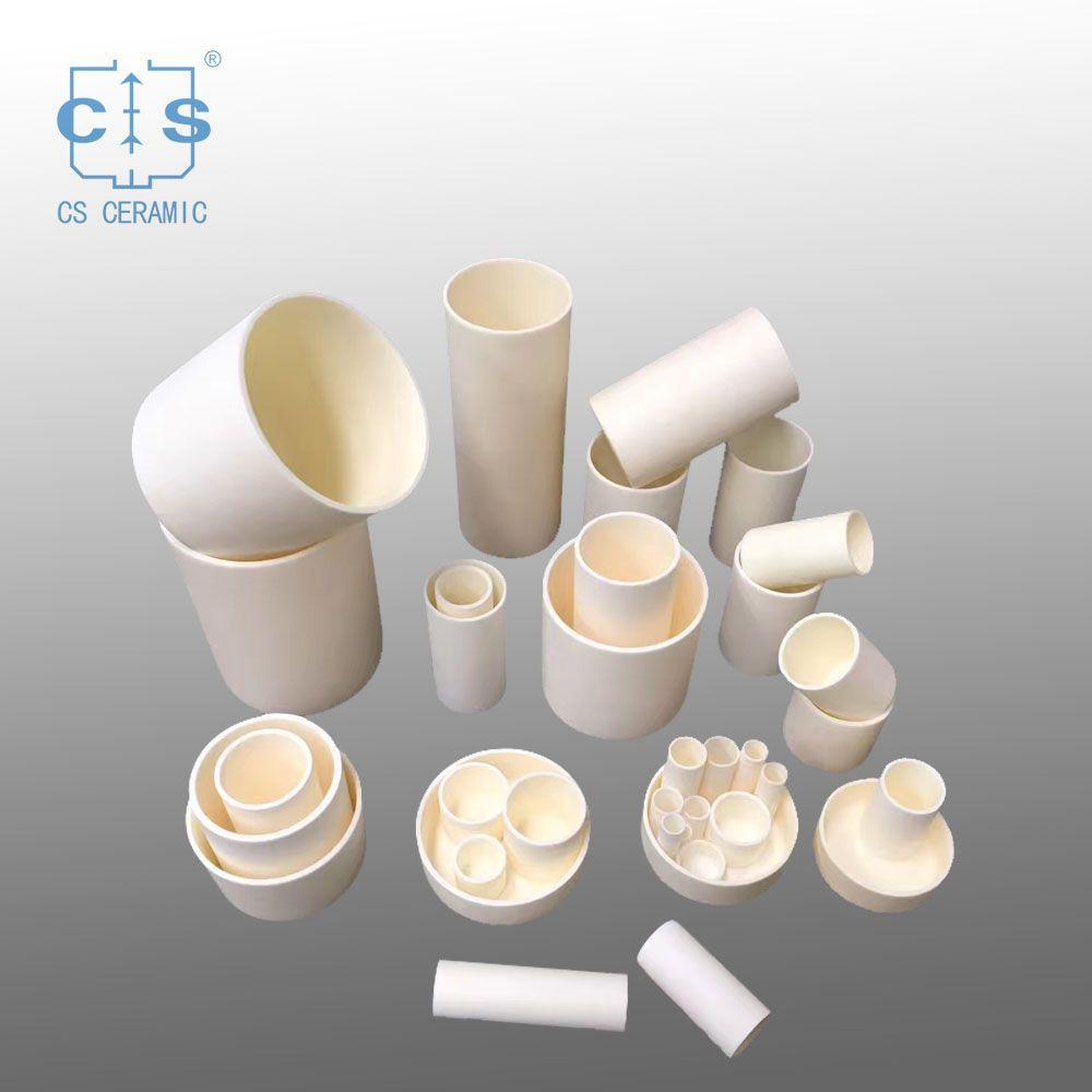 China Wear Resistant Alumina Ceramics Refractory Alumina Ceramic Boat Wholesale Ceramics Melting Glass Clay Ceramics