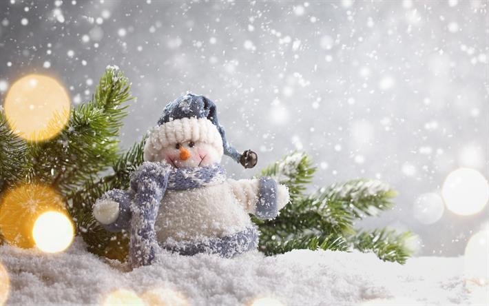 herunterladen hintergrundbild schneemann weihnachten. Black Bedroom Furniture Sets. Home Design Ideas