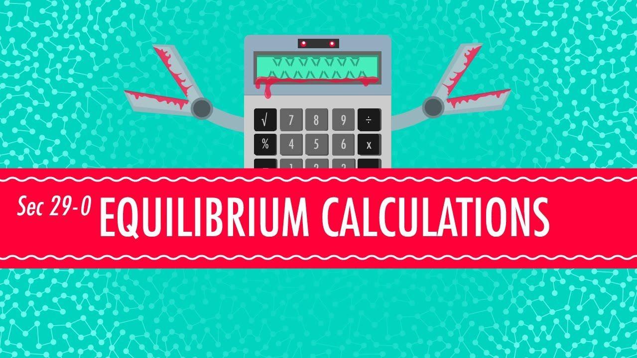 Anna Morphey Crash Course For Equilibrium Chemistry Unit 8 Review