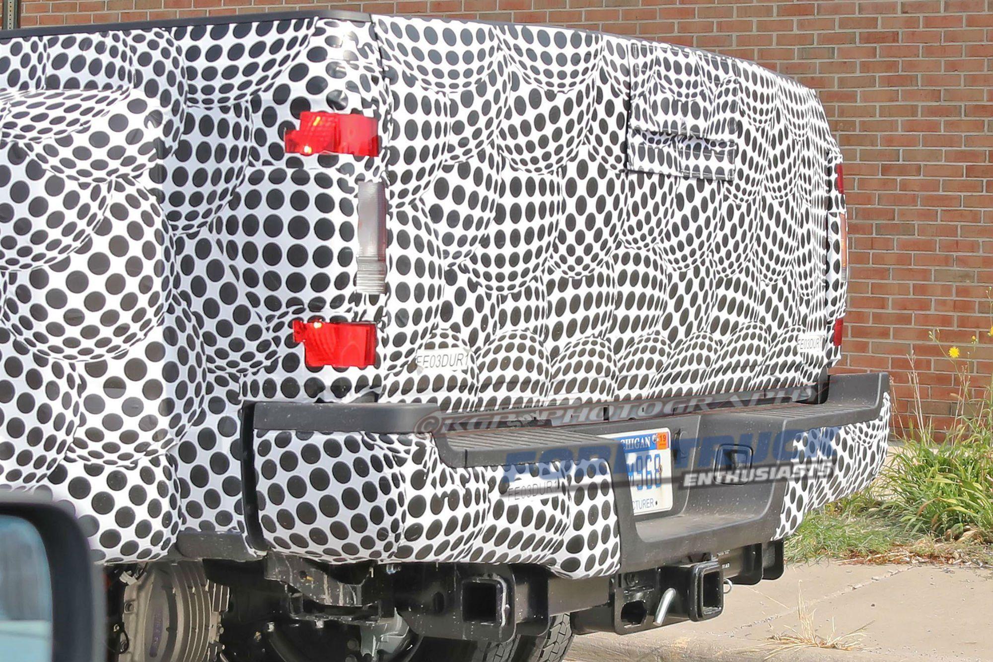 2021 Spy Shots Ford F350 Diesel Wallpaper