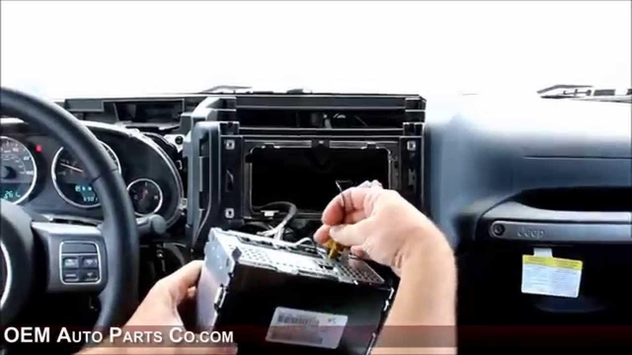 20112016 Jeep Wrangler Factory OEM Radio Options Plug
