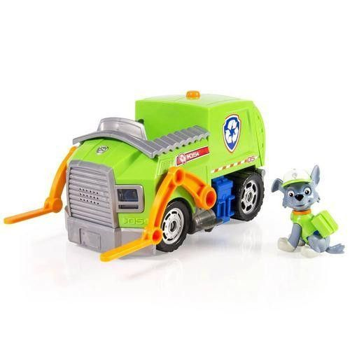 Paw Patrol - Rocky Lights and Sounds Recycling Truck