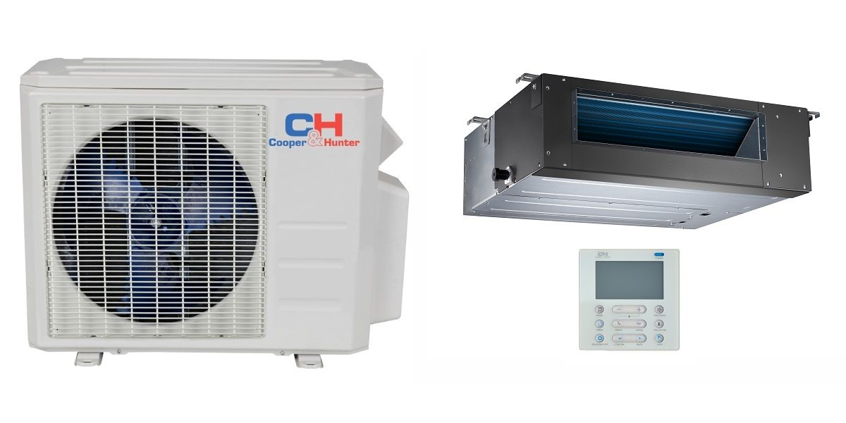 C H Ducted Mini Split In Minisplitwarehouse Com Get A C H 9000 Btu Ducted Mini Split Hyper Heat Pump Ac Du Heat Pump Air Conditioner Heat Pump System Heat Pump