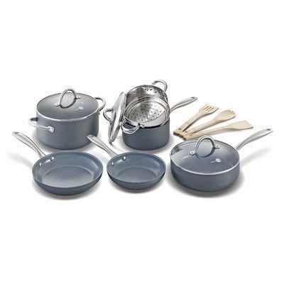 Farberware High Performance Nonstick 17 Piece Cookware Set