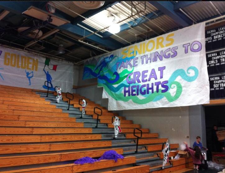 Janet Roberts Chino Hills High School Rally Idea Senior Year Of High School Pep Rally Themes