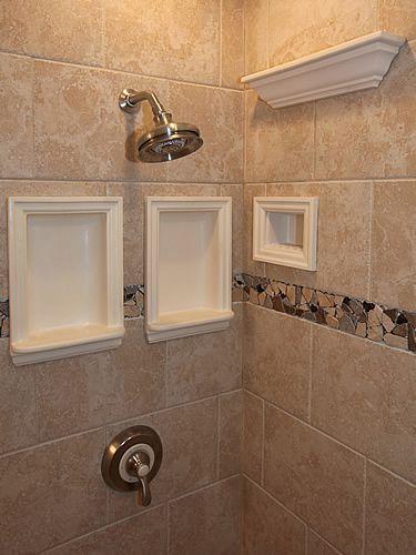 Tiled Niche Traditional Bathroom Tile Bathroom Furniture Modern Diy Bathroom Remodel