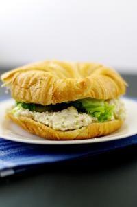 Light Chicken Salad Croissant