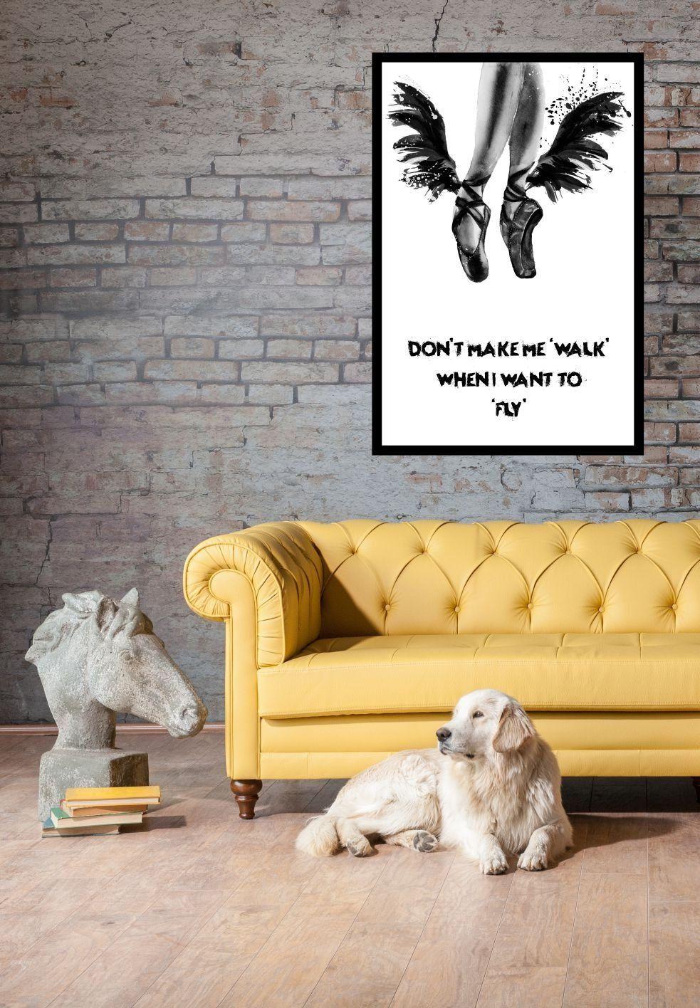 fly,photography design art ,typography design, Art Print, poster ...