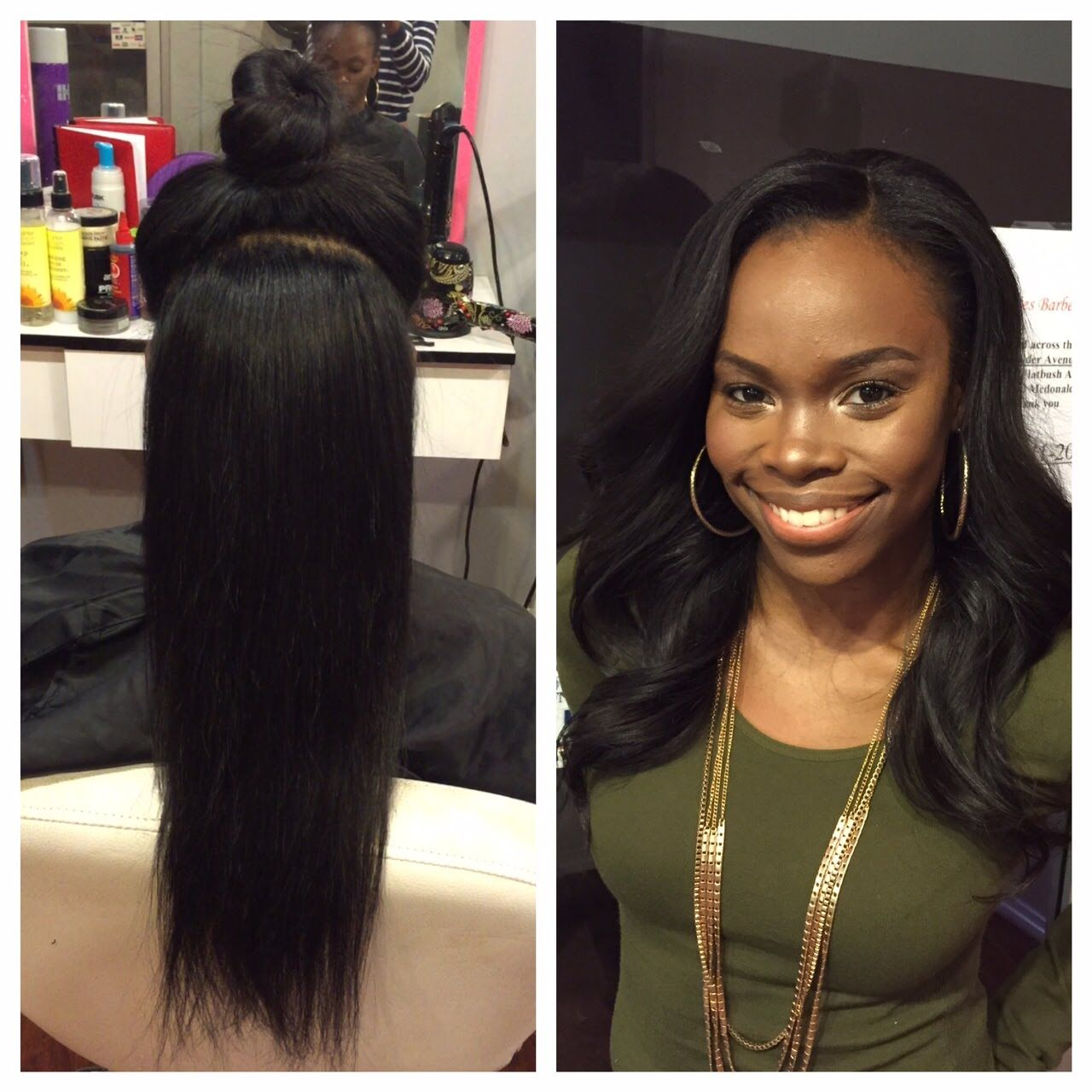 Vixen Two Part Sewin Weave Tutorial By @nynystyle