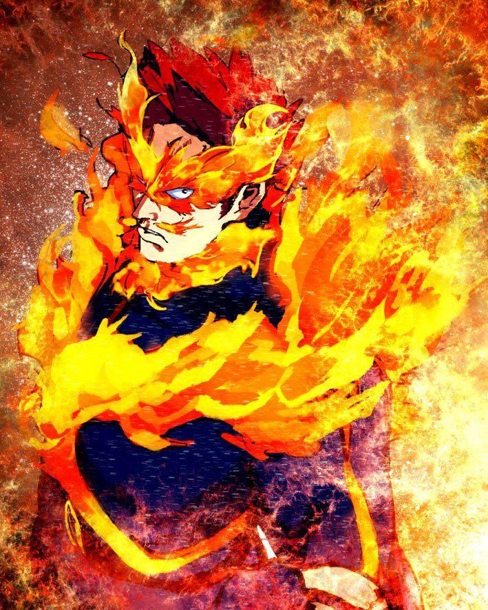 Endeavor My Hero Academia My Hero Academia 2 Hero Academia Characters