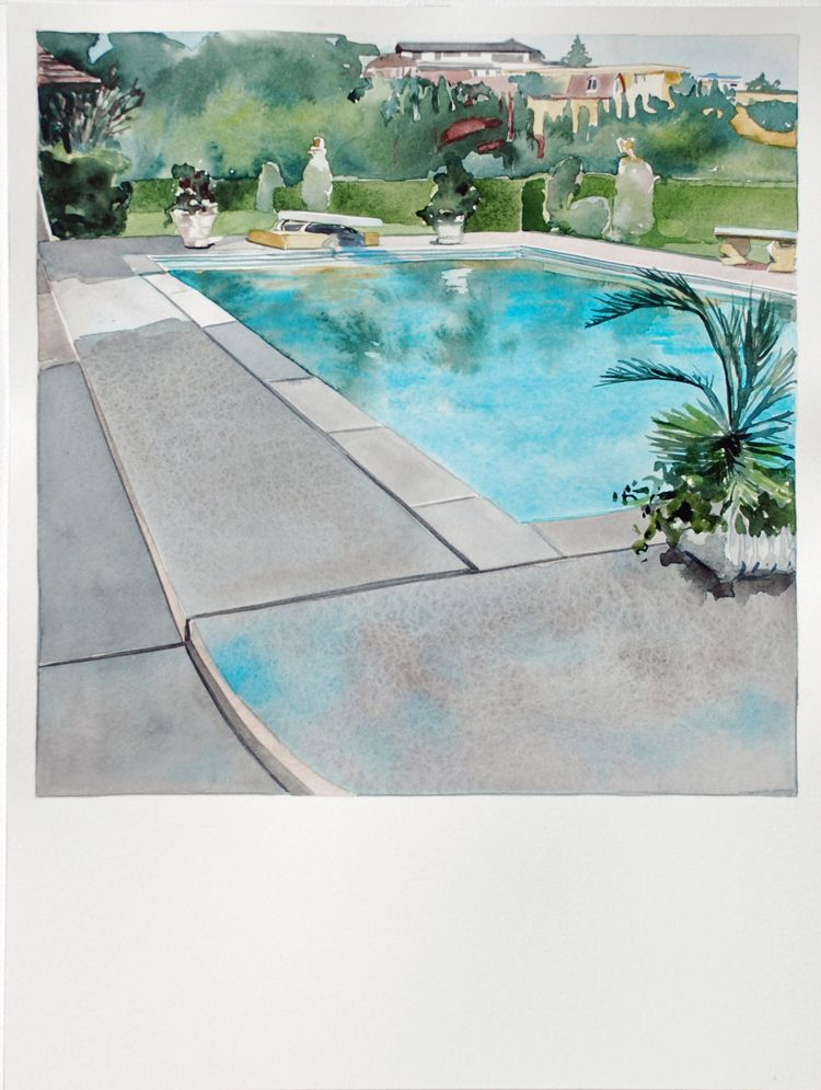 To Do Ed Ruscha S Nine Swimming Pools A Broken Glass At L A S