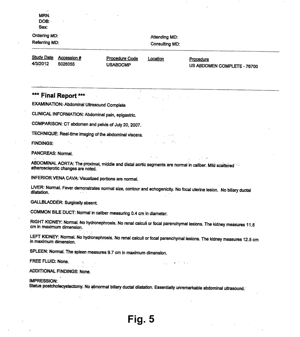 Abdominal X Ray Report Template 1 Professional Templates Report Template Templates Downloads Templates